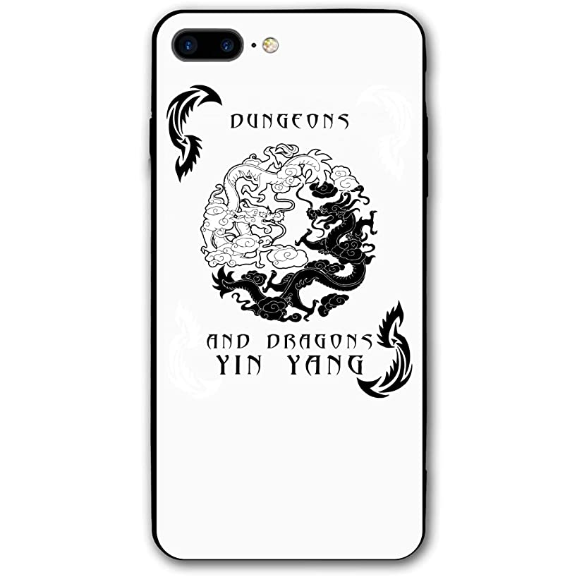 Xyybbn Dungeons and Dragons Yin Yang Good and Evil Fancy Retro Basic Mobile Case iPhone for 7Plus / 8Plus