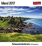 Sehnsuchtskalender Irland - Kalender 2017 - Harenberg-Verlag - Postkartenkalender mit 53 heraustrennbaren Postkarten - 16 cm x 17,5 cm
