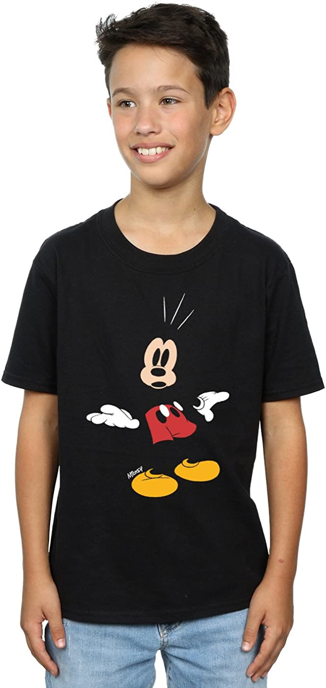 Disney Boys Mickey Mouse Surprised T-Shirt