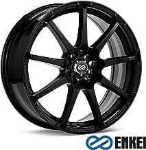 ENKEI - edr 9 - 17 Inch Rim x 8 - (5x100/5x4.5) Offset (38) Wheel Finish - Matte black