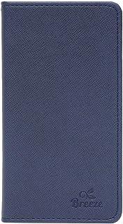 ゼンフォン マックス M1 ケース ASUS ZenFone Max M1 手帳型 ケース ZB555KL simフリー スマホケース カバー 液晶保護フィルム付 全機種対応 NAVY [Breeze]