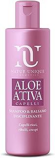 Natur Unique - Shampoo e Balsamo Disciplinante Aloe Attiva