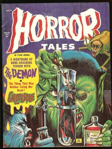 Horror Tales Magazine August 1972 Eerie Publications