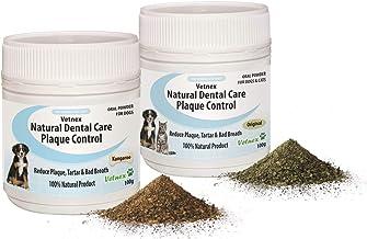 Vetnex Natural Dental Care Plaque Control Duo-Pack for Dogs (Original+Kangaroo Powders) 2x100g