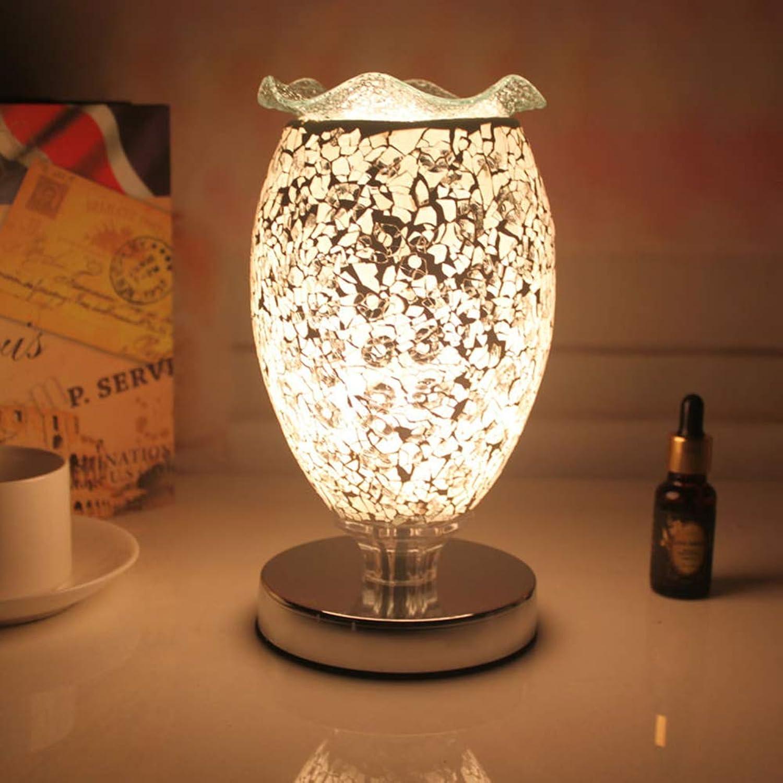 LL Tischlampe Dimmable Schlafzimmer-Licht Warm Kreative Retro Dekorative Duftlichtung für zu Hause,Farbe,25X13X10CM