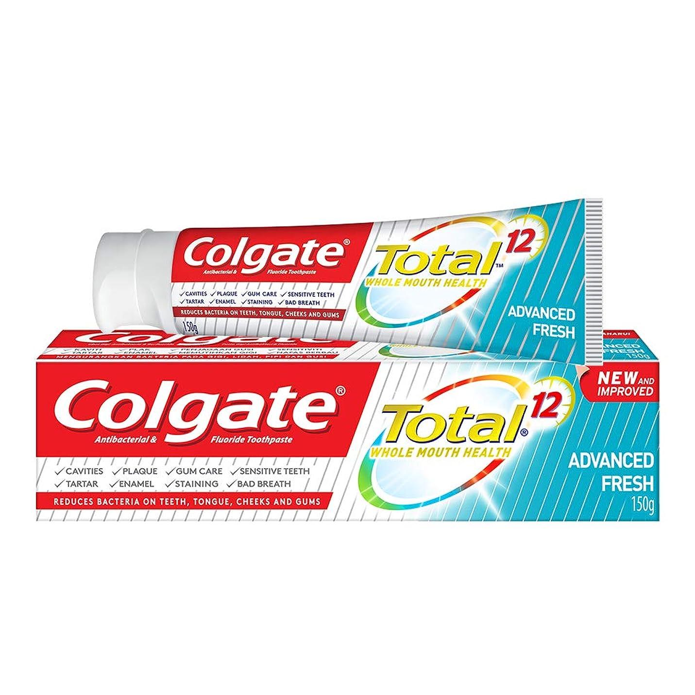 くま親指厚さColgate コルゲート トータル トゥースペースト 150g (歯磨き粉) 【歯磨き粉、虫歯予防、アメリカン雑貨】