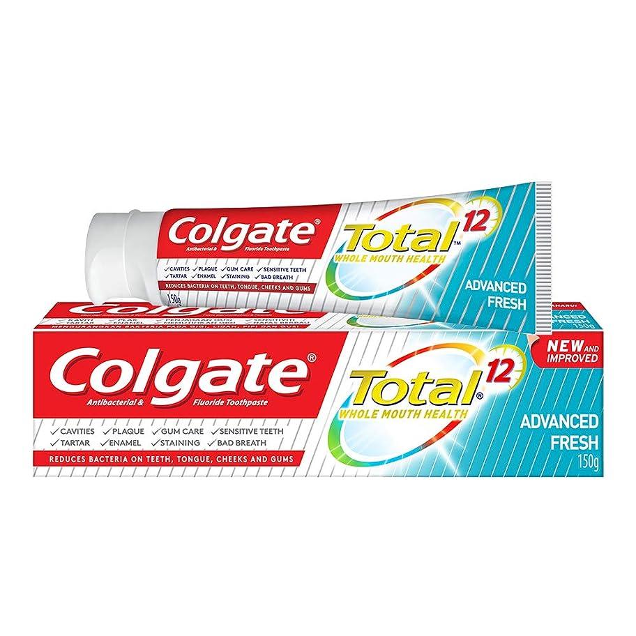 流体変形するスローColgate コルゲート トータル トゥースペースト 150g (歯磨き粉) 【歯磨き粉、虫歯予防、アメリカン雑貨】