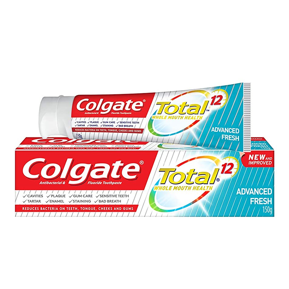するだろうレバー司書Colgate コルゲート トータル トゥースペースト 150g (歯磨き粉) 【歯磨き粉、虫歯予防、アメリカン雑貨】