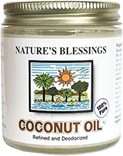 Nature's Blessing Coconut Oil 100% Pure 4oz