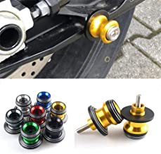 6mm Rear Swingarm Swing arm Slider Spools Stand Paddock Screws For Ducati 899 Panigale/Monster 821