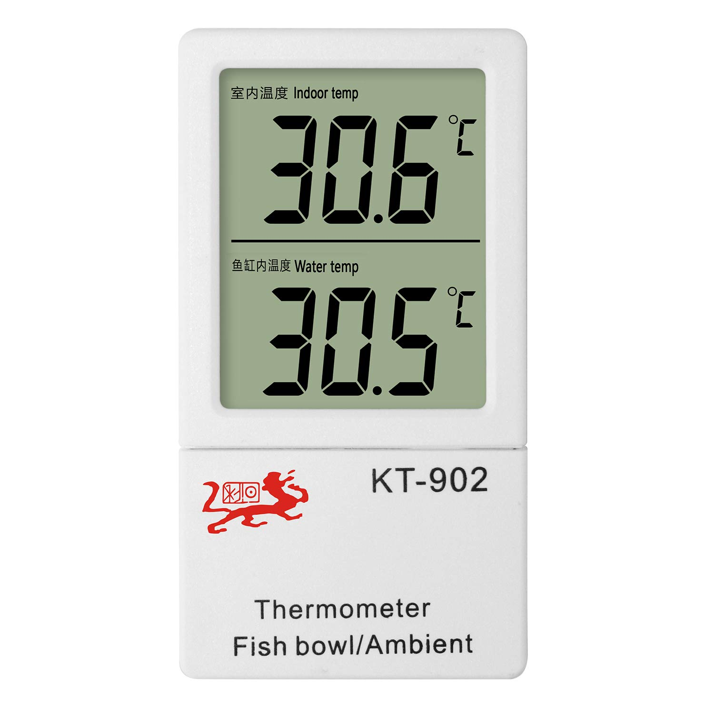 JLENOVEG 2 in 1 Aquarium Thermometer