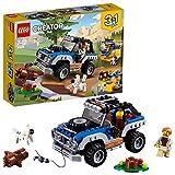 LEGO- Creator Avventure nel Deserto, Multicolore, 31075