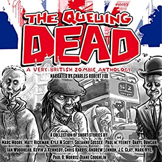 The Queuing Dead: A Very British Zombie Anthology cover art