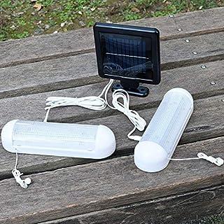 Haudang Lampe solaire LED portable 9 W pour abri de jardin