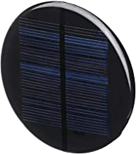 Electronic Module Round Style Polycrystalline Solar Panel Epoxy Board Φ80MM 6V 2W
