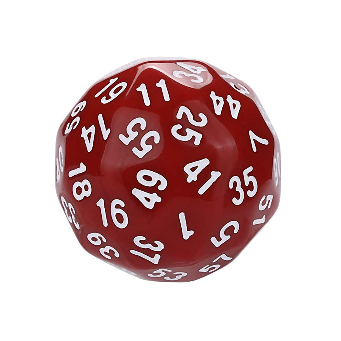 Dreamyth- 1Pcs for Game Dungeons & Dragons Polyhedral D60 Multi Sided Acrylic Dice Affordable