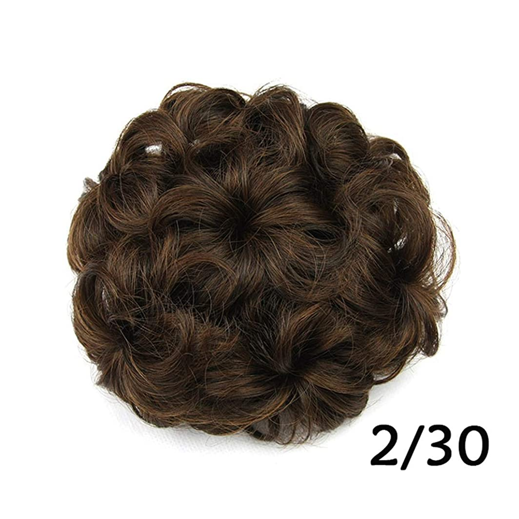 気付く家具雨Koloeplf 女性の7つの花の頭のパンは、ロープのパンのボールのヘアピースをプル (Color : Color 2/30)