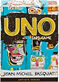 Mattel Games - Uno, Jean-Michel Basquiat Gioco di Carte, Edizione Speciale Artista, GDG38