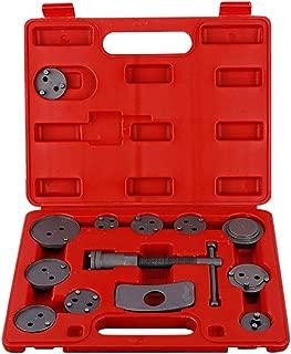 Gizayen Professional Disc Brake Caliper Wind Back Tool Kit, 13 PCS/Set Disc Brake Caliper Wind Back Tool Kit for Car Vehicle Repairing