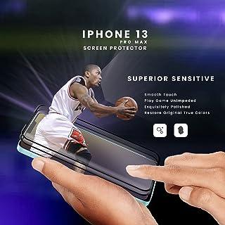 RIVANOO skärmskydd kompatibelt Kompatibel för apple 2 -pack iPhone 13 pro max - 9D härdat glas - Toppkvalitet / RIVANOO SC...