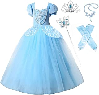 Romy's Collection Princess Special Edition Blue Party Deluxe Costume Dress-Up Set