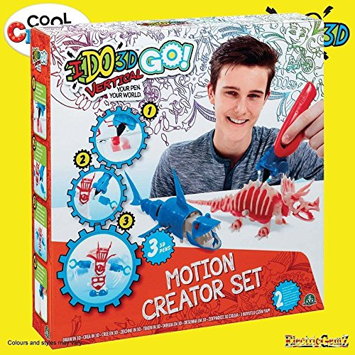 B-Creative Cool I Do 3D Go Vertical Motorised Motion Creator Set Predators