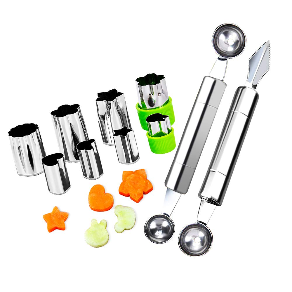 Vegetable Carving Stainless Decorating Kitchen