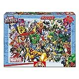 Educa- Serie puzzle 1000 piezas, Los héroes de Marvel, Color, 37.1 x 27.2 x 5.6 (15193)