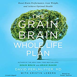 The Grain Brain Whole Life Plan audiobook cover art