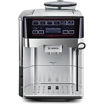 Bosch TES60759DE - Cafetera (Independiente, Máquina espresso, 1,7 L, Molinillo integrado, 1500 W, Negro, Gris): Amazon.es: Hogar