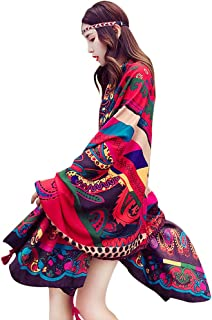 YFZYT Pañuelo de seda Mujer Mantón Bufanda Moda Chals Señ