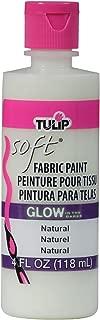Tulip 29098 Soft Fabric Paint 4oz Glow Natural