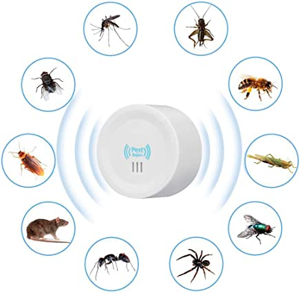 KACOOL Ultrasonic Pest Repeller, Electronic Indoor Home Pest Control Repellent Device, Pest Reject Machine for Rats Mice Ants Roaches Mosquitoes Insects Flea Spiders