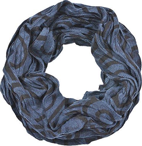 ANTONY MORATO, Echarpes pour homme, foulards, écharpes tubulaires, accessoires, bleu foncé, 70 x 43 cm