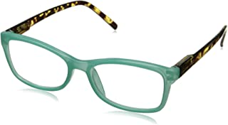Peepers Women's Sand Bar 2226275 Cateye Reading Glasses, Teal, 2.75