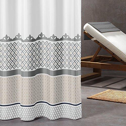 Sealskin Textil Duschvorhang Marrakech, B x H: 180 x 200 cm