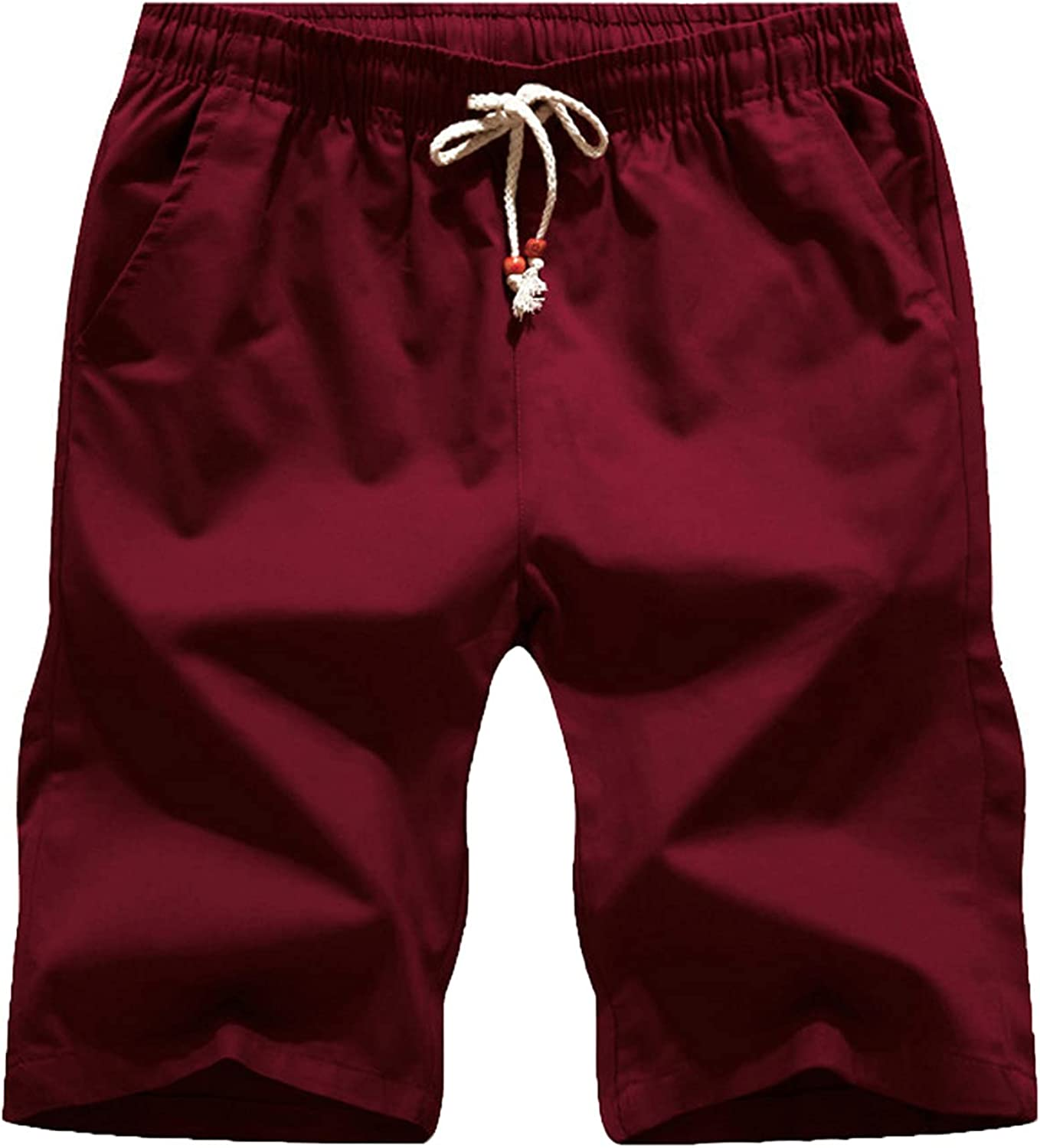 Shorts for Mens Cargo Relaxed Fit Stretch Sports Quick Dry Lightweight Running Jogger Zipper with Pockets