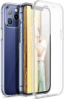 Le Petit Français® - Carcasa 2 en 1 para iPhone 12 Pro Max Integrale 360 (1*) Delantera y (2*) Trasero Antigolpes Pro Prot...