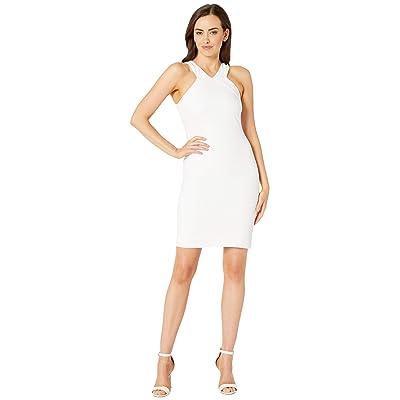 Laundry by Shelli Segal Halter Cocktail Dress (White) Women