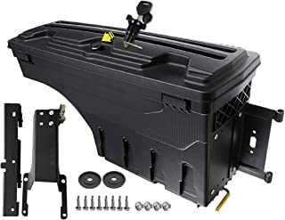 A-Premium Storage Box Case Truck Bed for Ford F-150 2015-2019 Rear Left Driver Side