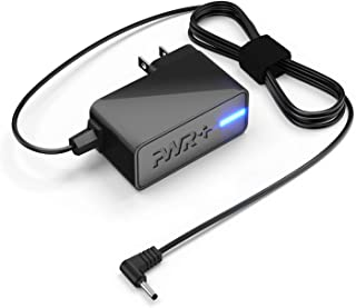 PWR+ 9V Charger for NONO Pro Hair Removal: UL Listed Extra Long 6.7 Ft Cord No No Micro..