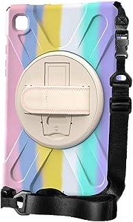 Galaxy Tab Protection Case med axelrem Tab Skärmskydd för Samsung Galaxy Tab Tab A7 10.4 2020 / T500 Fancy Pink