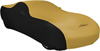 Coverking Custom Fit Car Cover for Select Graham Graham-Paige 610 Models - Satin Stretch (Gold with Black Sides)