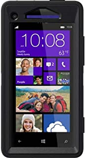 OtterBox Defender Series Case for HTC Windows Phone 8X - Retail Packaging - Black (Discontinued by Manufacturer)