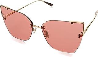 نظارات شمسية أنيتا III ماكس مارا للنساء بلون ذهبي وردي، 64