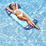 Pool Floats - 1 Pack 4-in-1 Pool Noodle Floaties for Adults Pool Floaties Pool Lounger Floats for Swimming Pool Water Toys Pool Floats for Adults Pool Raft