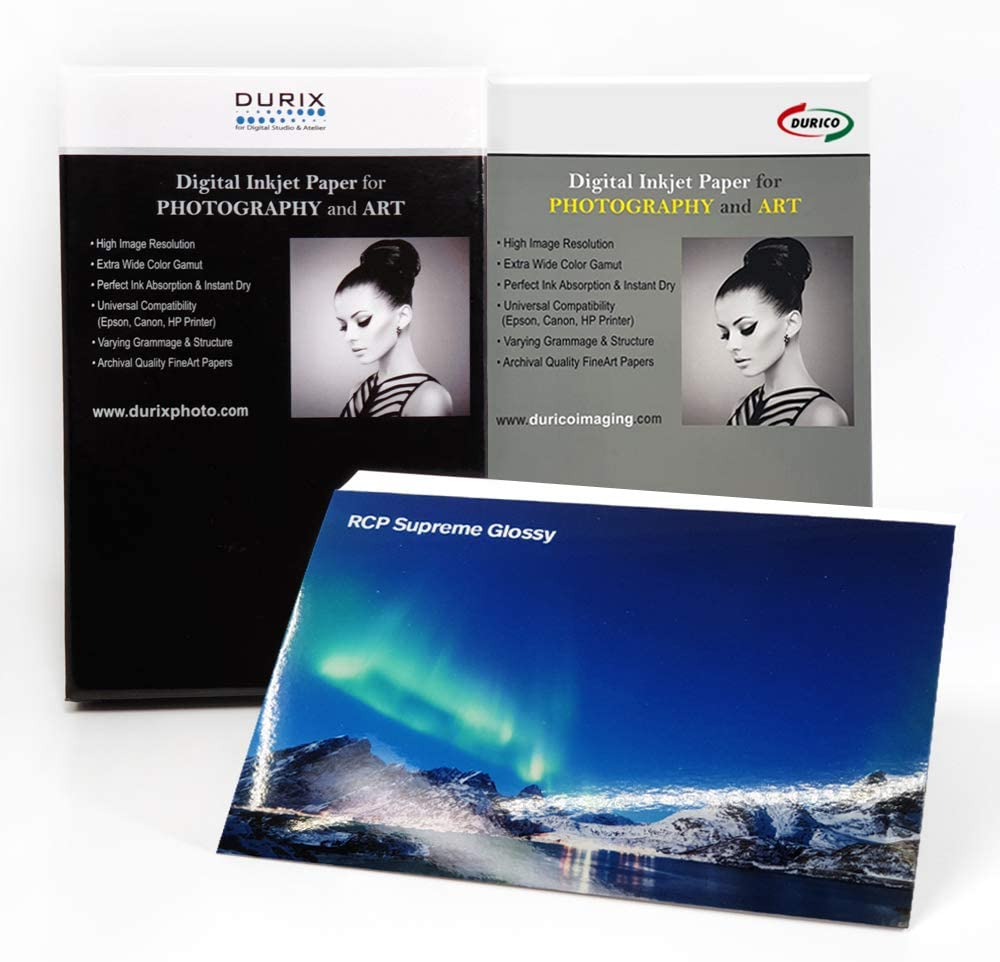 RCP Supreme Limited time sale Glossy Max 63% OFF 270gsm Digital Paper Photography a for Inkjet