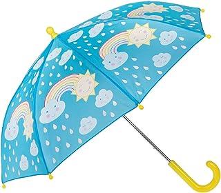 Sass /& Belle Kids Childrens Colour Change Umbrella Folding Compact Gift Unisex
