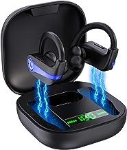 Wireless Earbuds, Bluetooth 5.1 Wireless Headphones Sport Bluetooth Earphones in Ear Noise Cancelling Earbuds with Mic[Dee...