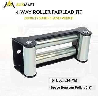 Daystar KU70039BK Universal winch hook roller fairlead isolator black Made in America Black fits most 8k lb to 12.5k lb winches